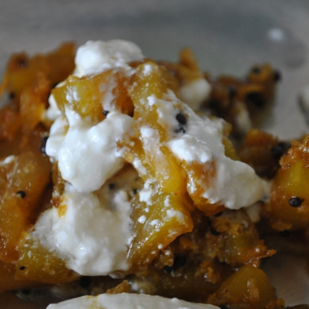 Afghan Sweet Pumpkin Dish From Kadu Bourani