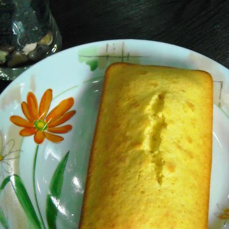 Vanilla Flavored Sponge Cake