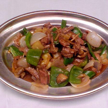 Thai Lamb Stir Fry