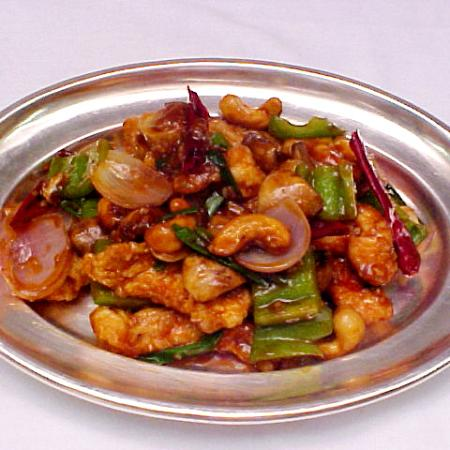 Chicken Stir Fried With Cashewnuts And Red Chilli