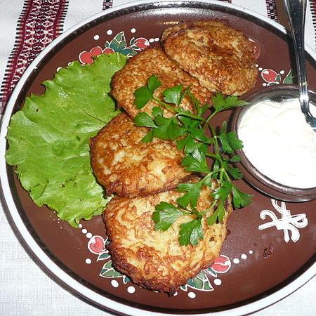Deruny Potato Pancakes
