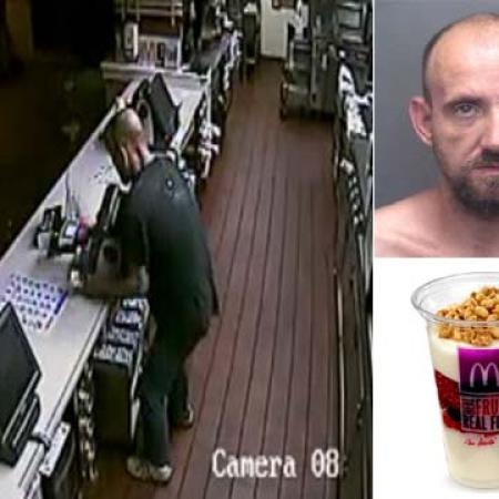 Burglar at McDonalds Steals Yogurt Parfaits Instead of Cash