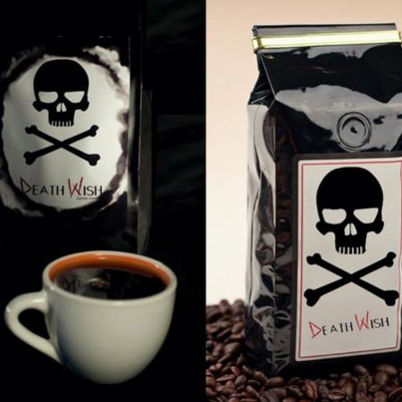Sip from a Cup of Death Wish Coffee to Become 200% More Alive