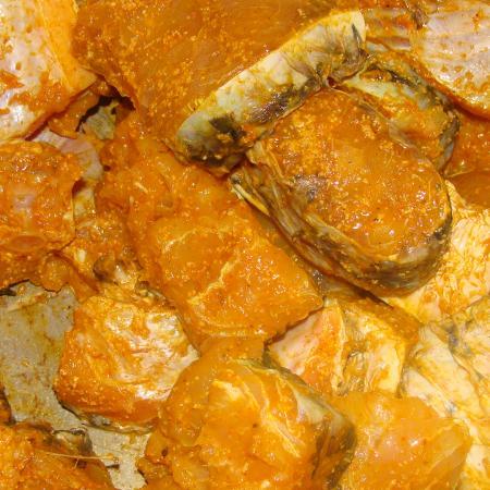 Haldi Marinated Fish