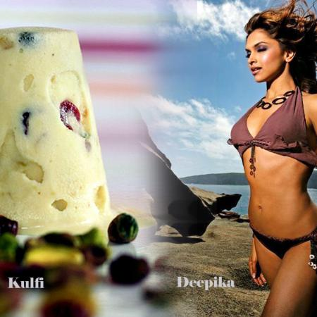 Deepika Padukone And Kulfi
