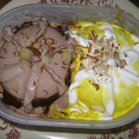 Icecream With Nuts