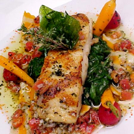 Grilled Snapper With Sauce Vierge