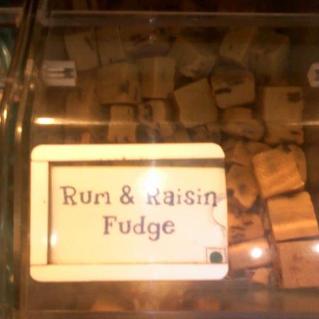 Rum And Raisin Fudge Candy
