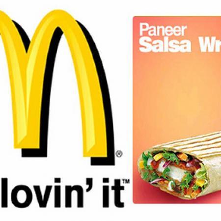 McPaneer Wrap