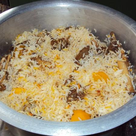 Homemade Biriyani