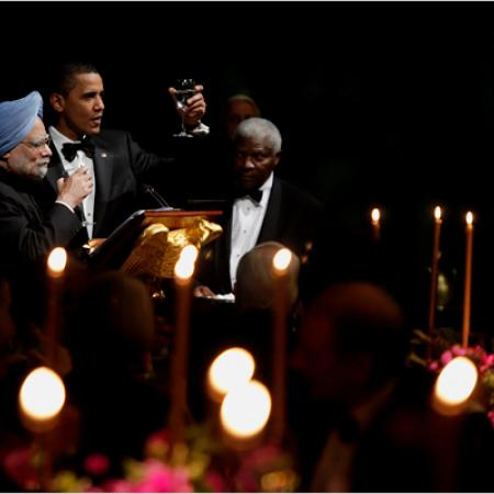 State Dinner - The Candle Light Toast