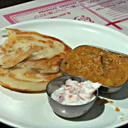 Avadhi Breakfast Sabji Paratha