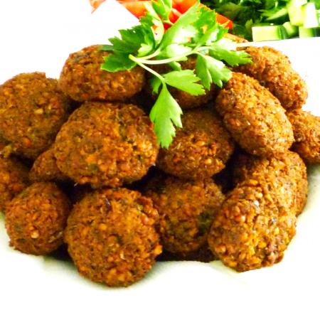 home made Falafel