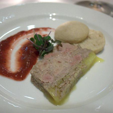 La Cote Brasserie foie gras terrine