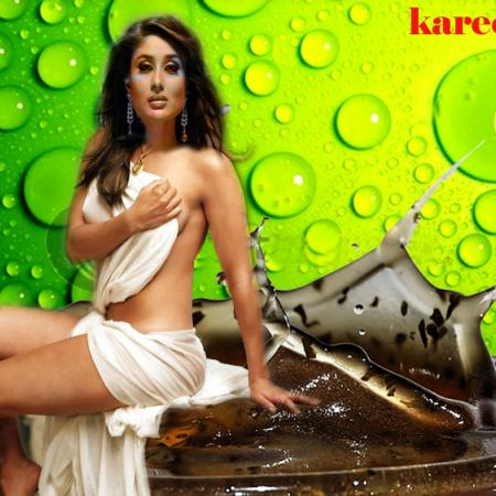 Kareena And Drink
