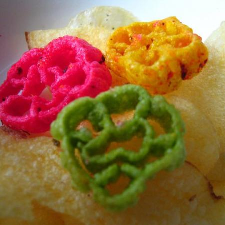 Rose And Potato Chips