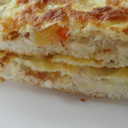 Bread Omelete Sandwich