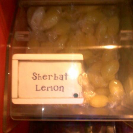 Sherbat Lemon Candy