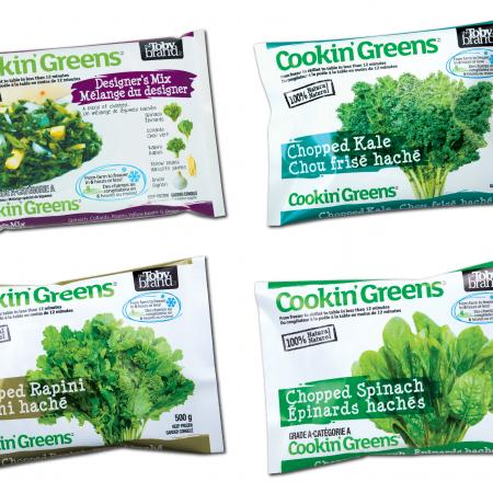 Cookin' Greens Product Line
