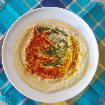 Mozilla Firefox Hummus