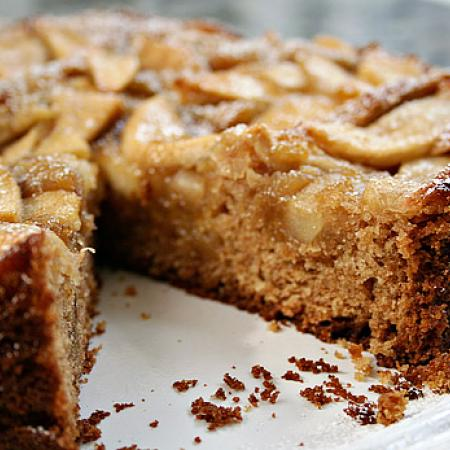 Healthy Apple Coffee Cake
