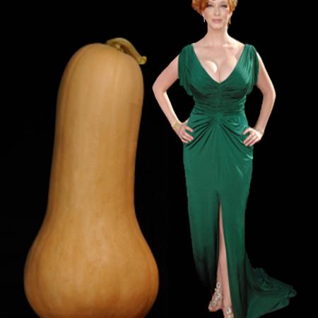 Butternut Squash Body Type - Christina Hendricks