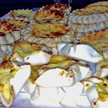 Sardinian cheesecake