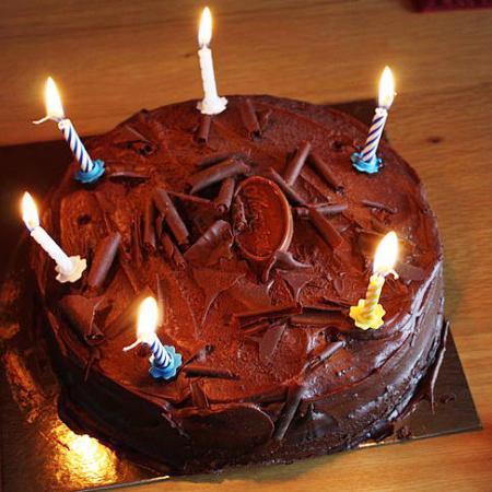 Perfect Chocolate Birthday Cake