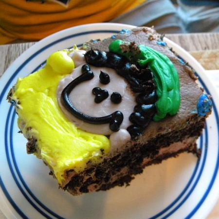 Smile Birthday Cake