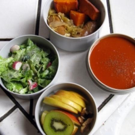 Fruit Bowl With Yogurt