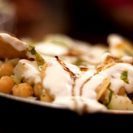Spicy Paapri Chaat