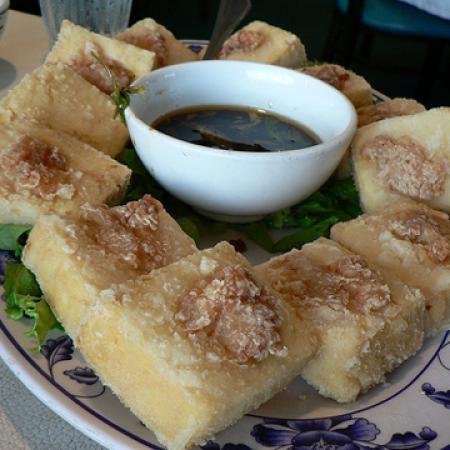 Chinese Dinner Menu -Tofu With Shrimp