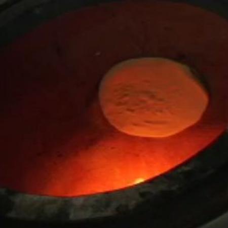 Tandoori Roti in Tandoor