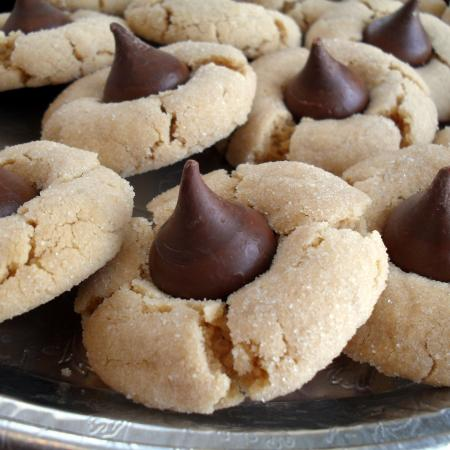 1. Peanut Butter Blossoms Cookie