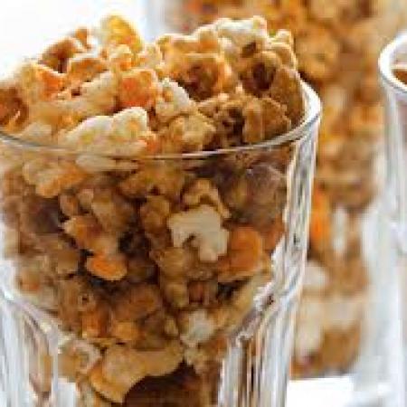 Balsamic Caramel Popcorn