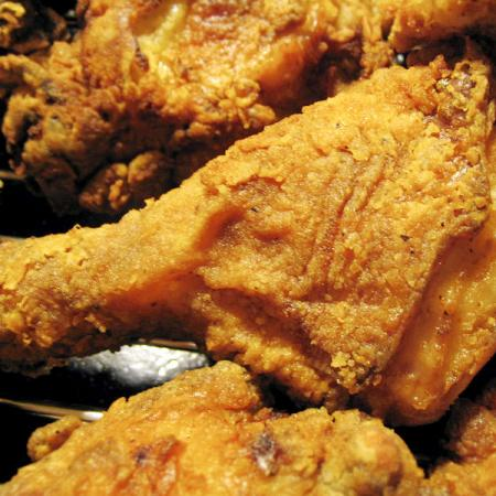 Several Pieces of Fried Chicken
