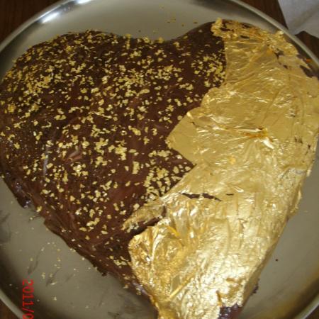Edible Gold Cake