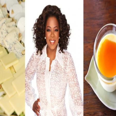 Oprah Winfrey with Cheese and Caramel