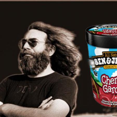 Jerry Garcia Eats Cherry Garcia