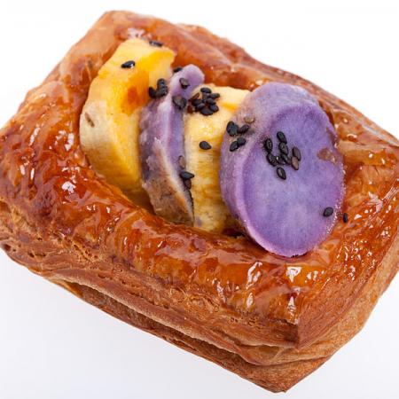 Sweet potato flaky pastry