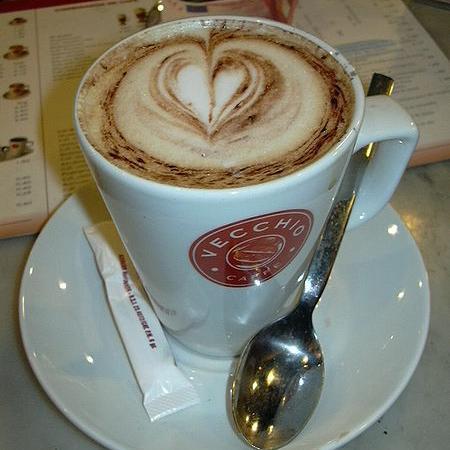 Old Cafe Cappuccino flavored de coco