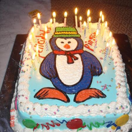 Penguin Cake