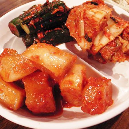 Korean Side Dish Kimchi