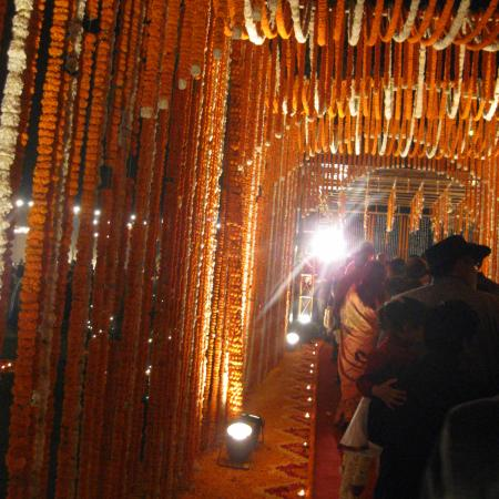 Indian Wedding Decoration - Genda Phool