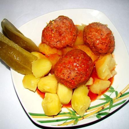 Polish Meatballs Klopsy