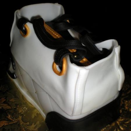 White Vanity Bag Cake
