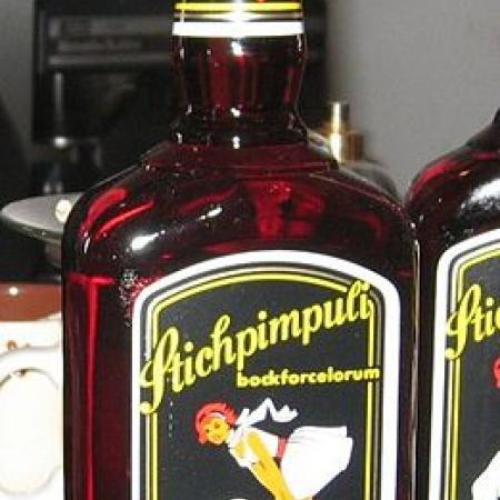 Stichpimpuli Flasche