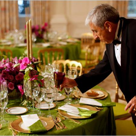 State Dinner - Setting the Table