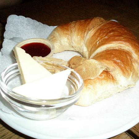French Croissant with Cheese