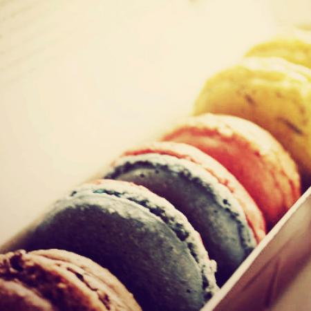 Macarons with Fading